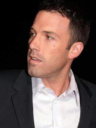 Actor/director Ben Affleck. Picture: Getty