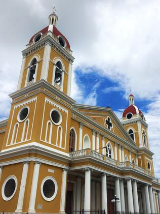 Our Lady of the Assumption Cathedral in the capital, Granada. Picture: Gary Burchett