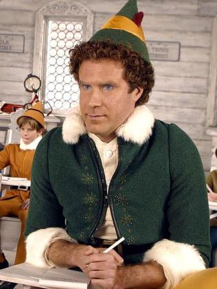 Will Ferrell (R) as Buddy in Elf. Picture: Supplied