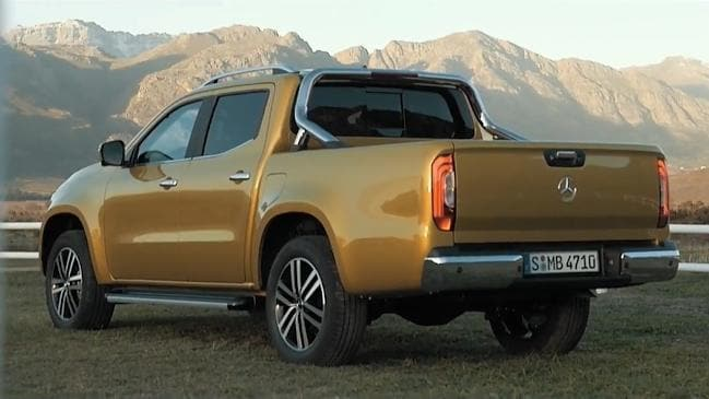 2018 toyota ute. unique ute mercedes unveil 2018 xclass ute054 on toyota ute o