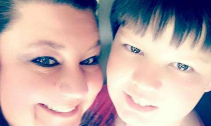 Mum shares photo of her son in a coffin to show the effects of bullying