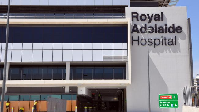 Outpatient facilities at the new RAH have been described as woefully inadequate.