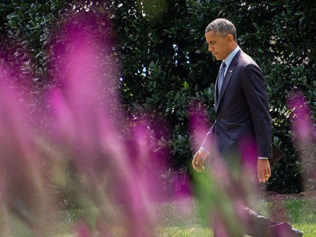 President Barack Obama announce new economic sanctions against key sectors of the Russian economy in the latest move to force Russian President Vladimir Putin to end his support for Ukrainian rebels. Pic: AP J. David Ake.