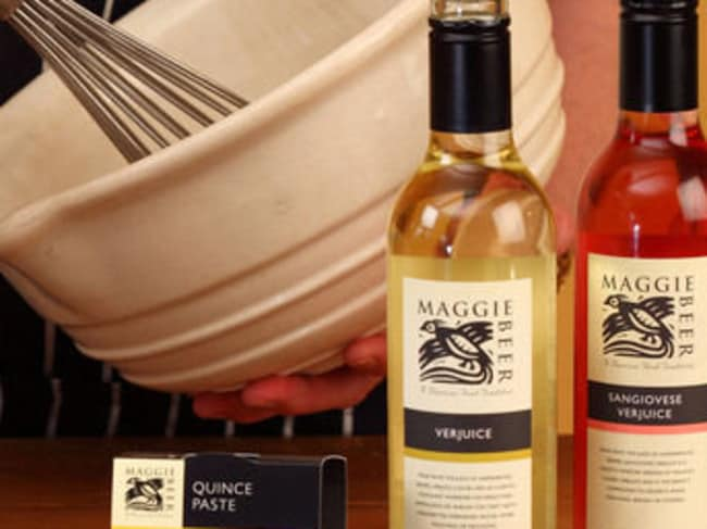 Verjuice adds flavour to everything, but what is it again? Picture: maggiebeer.com.au