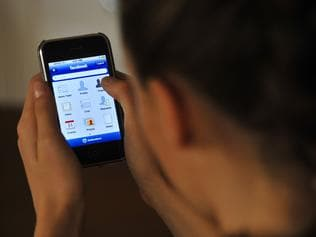 NEWS: Generic Cyber safety photos. Facebook on the iPhone.