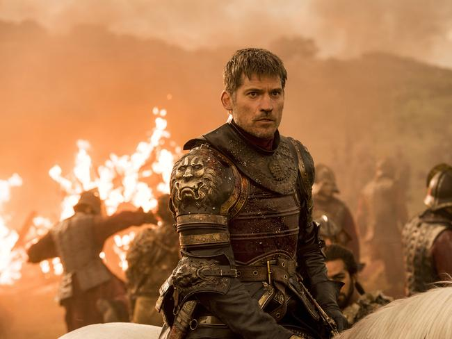 Nikolaj Coster-Waldau as Jaime Lannister in an episode of Game of Thrones. Picture: AP