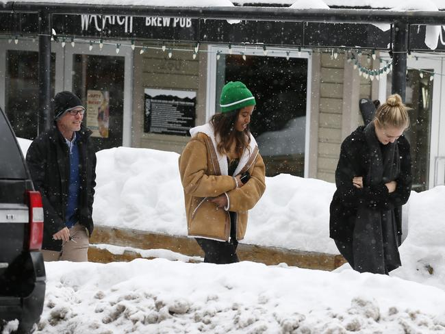 Malia attended this year's Sundance Film Festival while interning for The Weinstein Company.