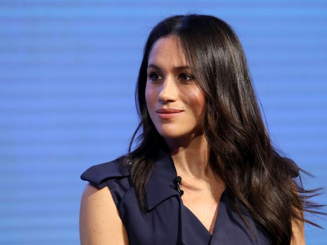 Meghan Markle voiced her support for the Time's Up movement. Picture: AFP/Chris Jackson