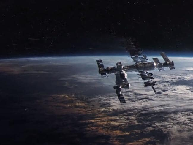 Combat zone ... the significance of orbital services such as surveillance and navigation makes them a tempting target in warfare. Picture: Gravity / Warner Brothers