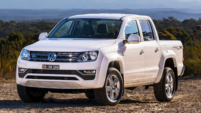 Most power for the money is the VW Amarok V6. Picture: Supplied