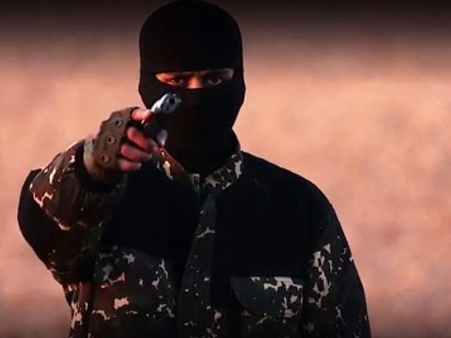 It has not yet been confirmed that Dhar is the man in the video who appears to have taken the role of the new 'Jihadi John'