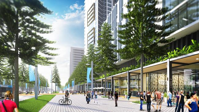 Apartments And Shops Will Line Olympic Boulevard As Part Of The 2030 Master Plan Supplied By NSW Government