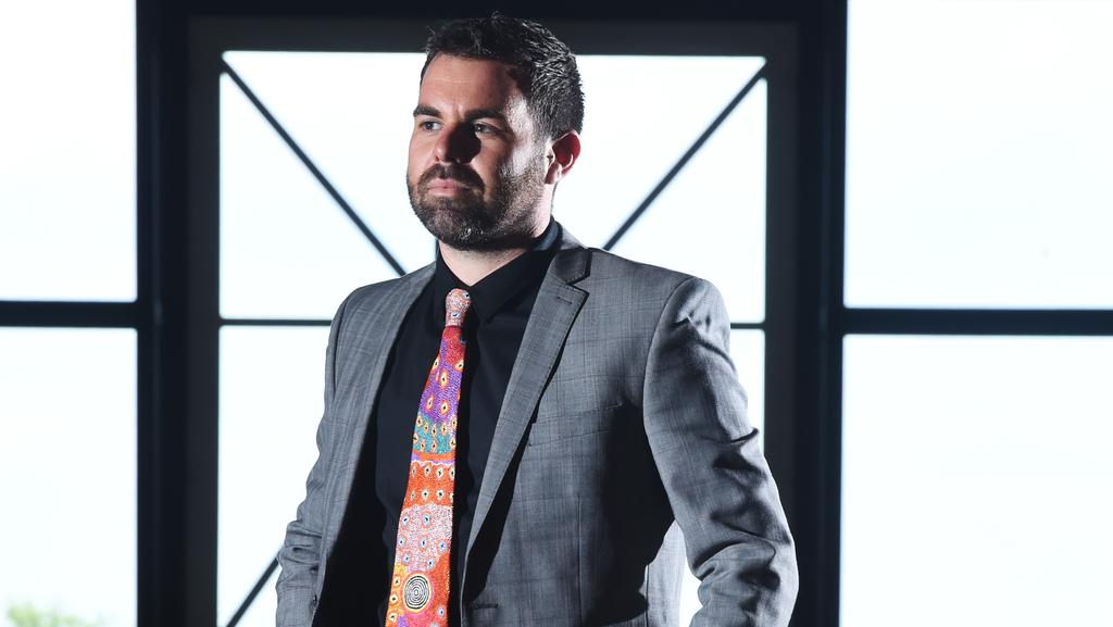 Member for Namatjira Chansey Paech wants to advocate for young indigenous LGBT people living in his remote electorate. PICTURE: Helen Orr