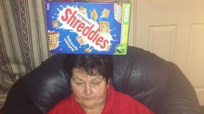 #thingsonmynan twitter: Shreddies.