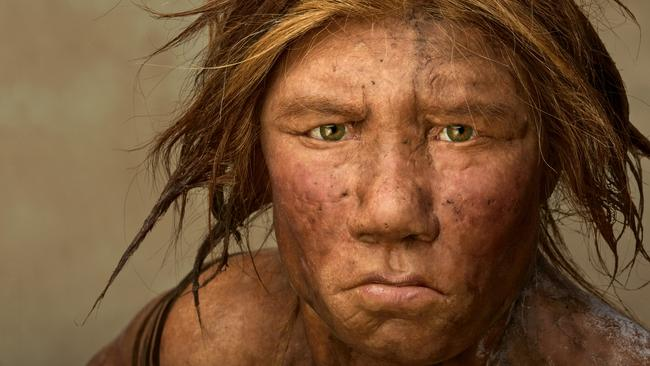 Neanderthal Wilma, was created using 43,000-year-old bones.