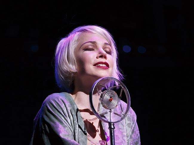 "Broadway debut ... Michelle Williams has failed to win a Tony Award nomination for her star turn in ""Cabaret,"" at Studio 54 in New York. Picture: AP"