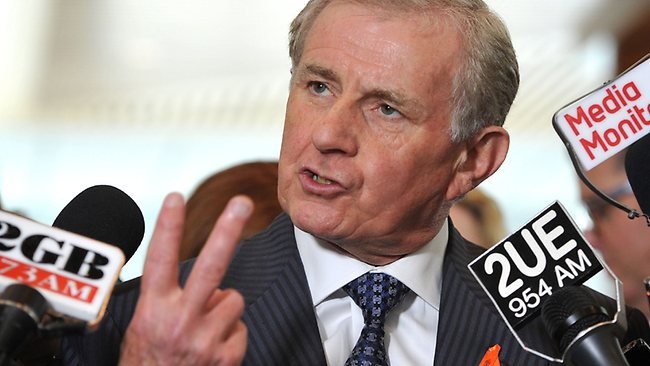 Simon Crean has said he could cross the floor to oppose superannuation changes. Picture: Mark Graham