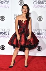 Ming-Na Wen arrives at the People's Choice Awards 2016. Picture: Jordan Strauss/Invision/AP