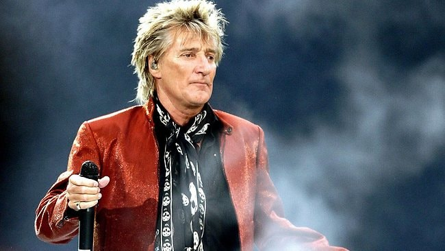 Rockin' Rod Stewart's ode to sexiness was deemed a good song for getting up close and personal on the dance floor.