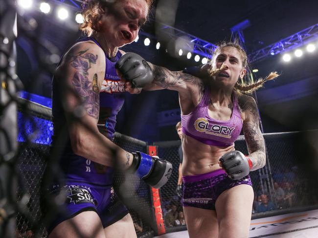 Megan Anderson has her UFC shot. Pic: Scott Hirano Photography