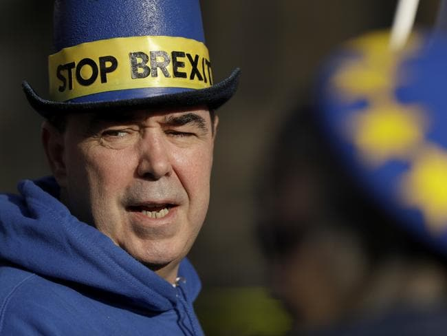 A leaked, and gloomy economic forecast has inflamed arguments about Britain's decision to leave the European Union. Picture: AP