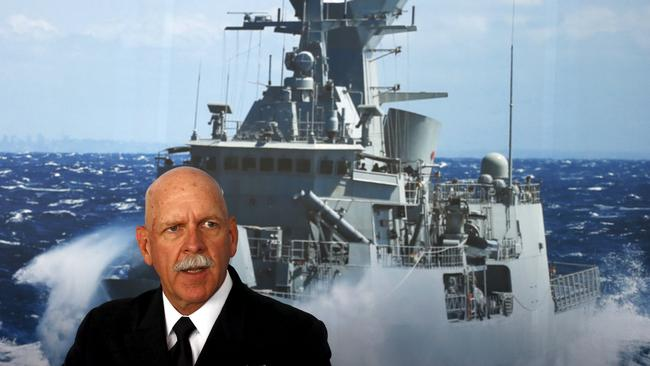 Warning ... Admiral Scott Swift has warned China and other nations about aggression in the region.