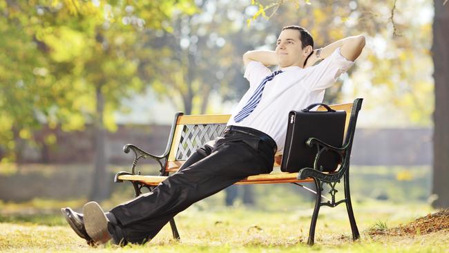 About a quarter of workers take a break to waste time. Picture: Thinkstock