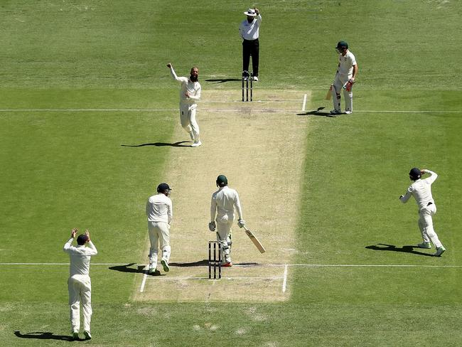 The moment it all ended for Khawaja.