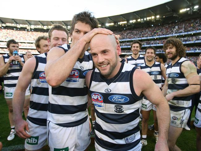 Chapman was awarded the Norm Smith medal after Geelong's Grand Final win over St Kilda in 2009.