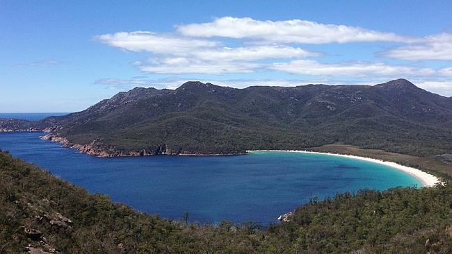 Wineglass Bay in Tasmania. Picture: Rodney Chester
