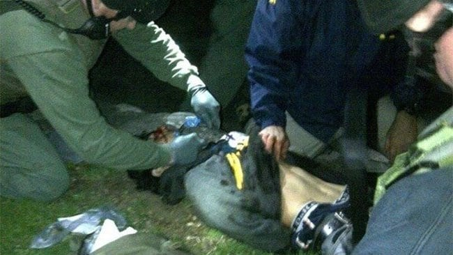 Boston Marathon bombing suspect Dzhokhar Tsarnaev captured