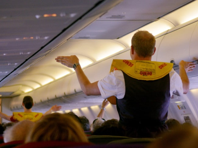 Flight attendants don't like when you ask for an upgrade — just be nice.
