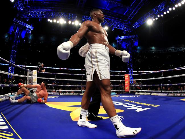 Anthony Joshua is a superstar. (Photo by Richard Heathcote/Getty Images)
