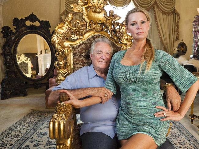 David Siegel and wife Jackie, 30 years his junior.