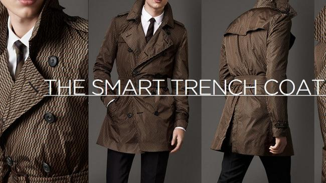 The coat with 4G and the ability to charge your mobile. Source: supplied