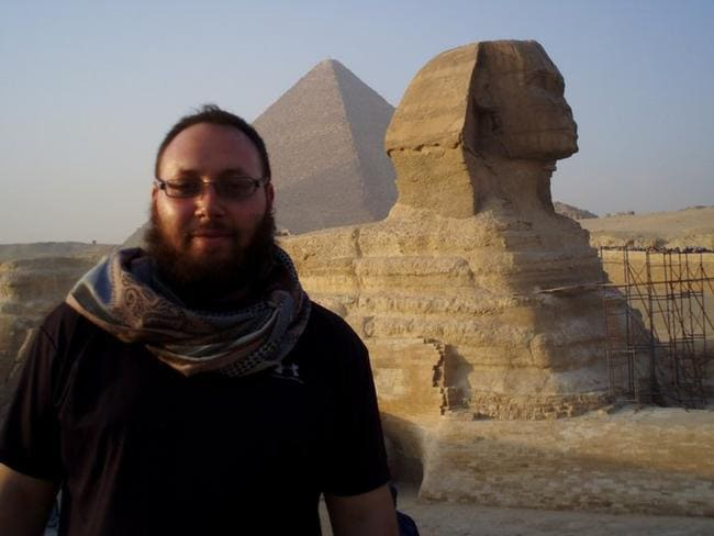 Kidnapped ... Sotloff reported extensively on the Middle East, writing for Time and Foreign Policy magazines before being kidnapped by IS in Syria in 2013.