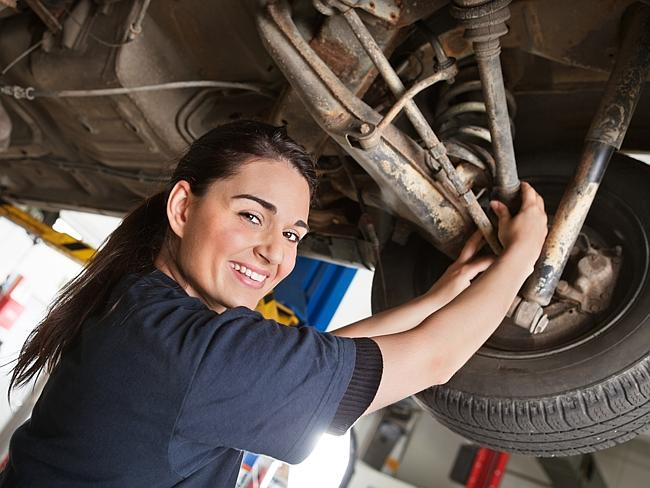 Call to young ... there are millionaire mechanics out there. Picture: Thinkstock