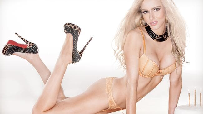 Maxim photoshoot of Gabi Grecko. Picture: Maxim