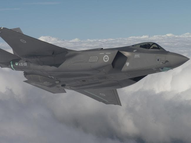 Fighter jet pilot unhappy with F-35 test