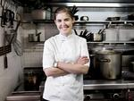 <p>Former MasterChef Australia contestant Julia Jenkins, now working in kitchen at Hugo's, King Cross in Sydney. Picture: Anthony Reginato</p>