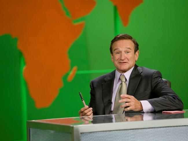 Robin Williams in the 2006 film 'Man of the Year'. Picture: Supplied