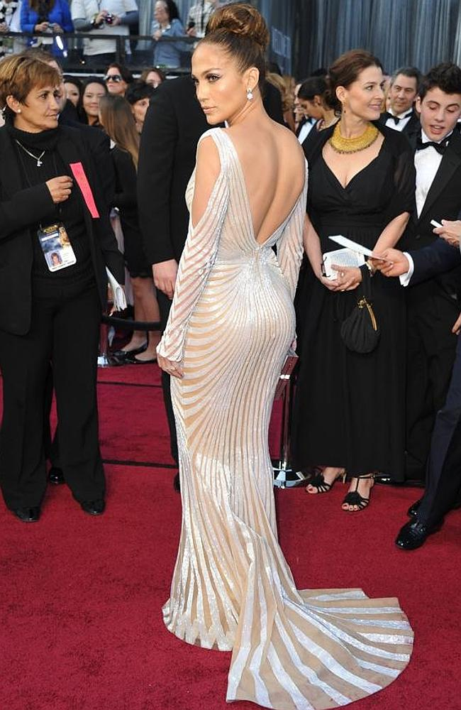 Jennifer Lopez at the 84th Annual Academy Awards in 2012.
