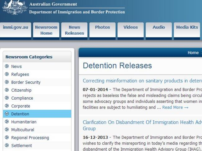 The Department of Immigration and Detention has not provided a public update on detention releases since January this year.