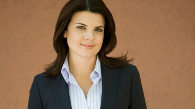 Kelli Underwood in 2009 before her commentating debut. Image: News Corp Australia.