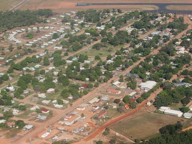 Aurukun is 800km north of Cairns on the western side of Cape York. Picture: Brendan Radke