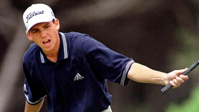 Sergio Garcia was another young star to salute at the British Amateur Championship.