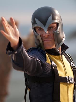 ... and Michael Fassbender in <i> X-Men: First Class</i>.