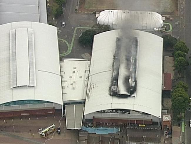 The Fire Is Believed To Have Started At Monster Skatepark Picture 7News