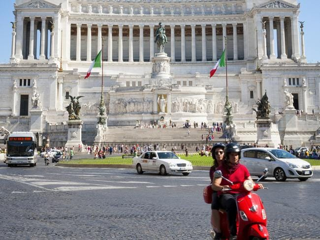 Scooter are a popular way to explore Rome. Picture: iStock