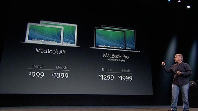 The MacBook Air starts at just $999.